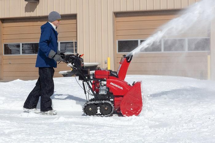 best review snow the snowblowers blowers honda