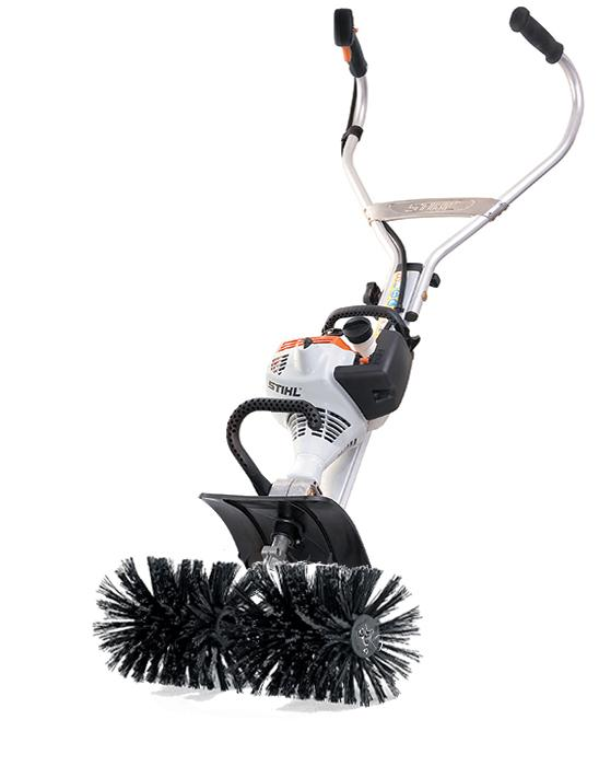 Snow Blower Rental >> Using A Sweeper To Remove Gravel From Grass & Lawns - or parking lots