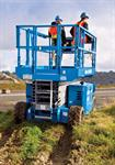 26' Genie Rough Terrain Scissors Lift Rental