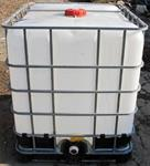 275 Gal Water Tank Rental with Garden Hose Fitting