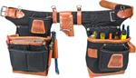 Adjust-to-Fit™ Fat Lip™ Tool Bag Set - Black