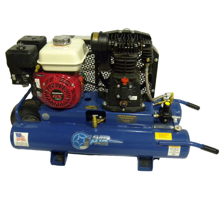 Air Compressor Rental, 6.5 HP, Gas, 14 CFM