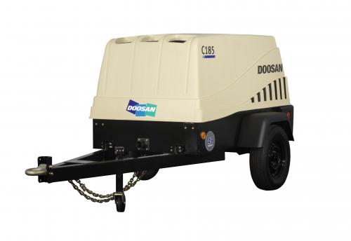 Air Compressor Tow Behind 185 Cfm