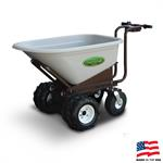 Battery Wheelbarrow, Landscape & Concrete Buggy