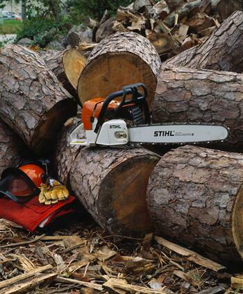 "Chain Saw, 28"", Stihl"