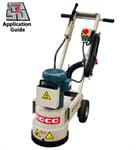 Concrete Grinder Rental, Single Head, Electric