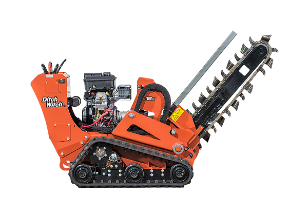 Ditch Witch Trencher Rental, 24