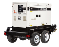 Generator Rental, 26 KW (26,000 W), Towable