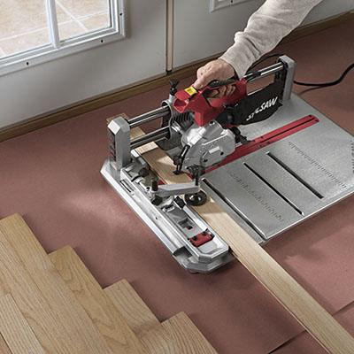 Hardwood And Laminate Flooring Saw Rental