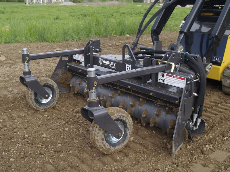 Harley Rake Rental, for Stand On Skidloader