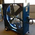 High Volume Fan Rental, 52^, 120 Volt, Electric