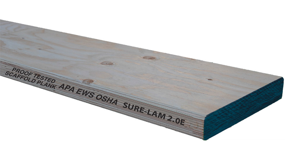 Is It OK To Cut Laminated Scaffold Planks (OSHA Planks)?