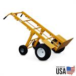 Large Hand Truck Rental, with Folding Wheels