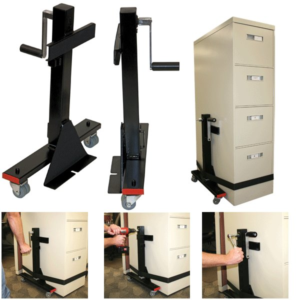 Lift N Move Cabinet Dolly With Load Binder