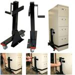 Lift-N-Move Cabinet Dolly with Load Binder