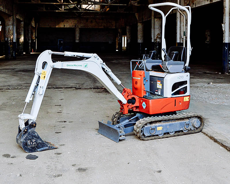 Mini Electric Excavator, 50A Electric, 2000 lbs. 1