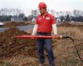"Mole Rental 5"", 63"" Long 195 lb Air Burrowing Tool"