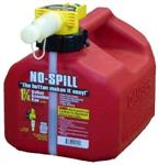 NO-SPILL CAN, 1.25 GAL
