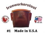 Occidental Iron Worker's Leather Bolt Bag