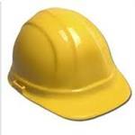 Ratchet Hardhat -- Yellow Omega II