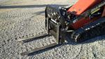 Rent Arrow Pallet Forks for Stand On Skid Loader