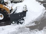 Rent Sno-Way 90^ Lexan Snow Pusher.. Hydr Angle