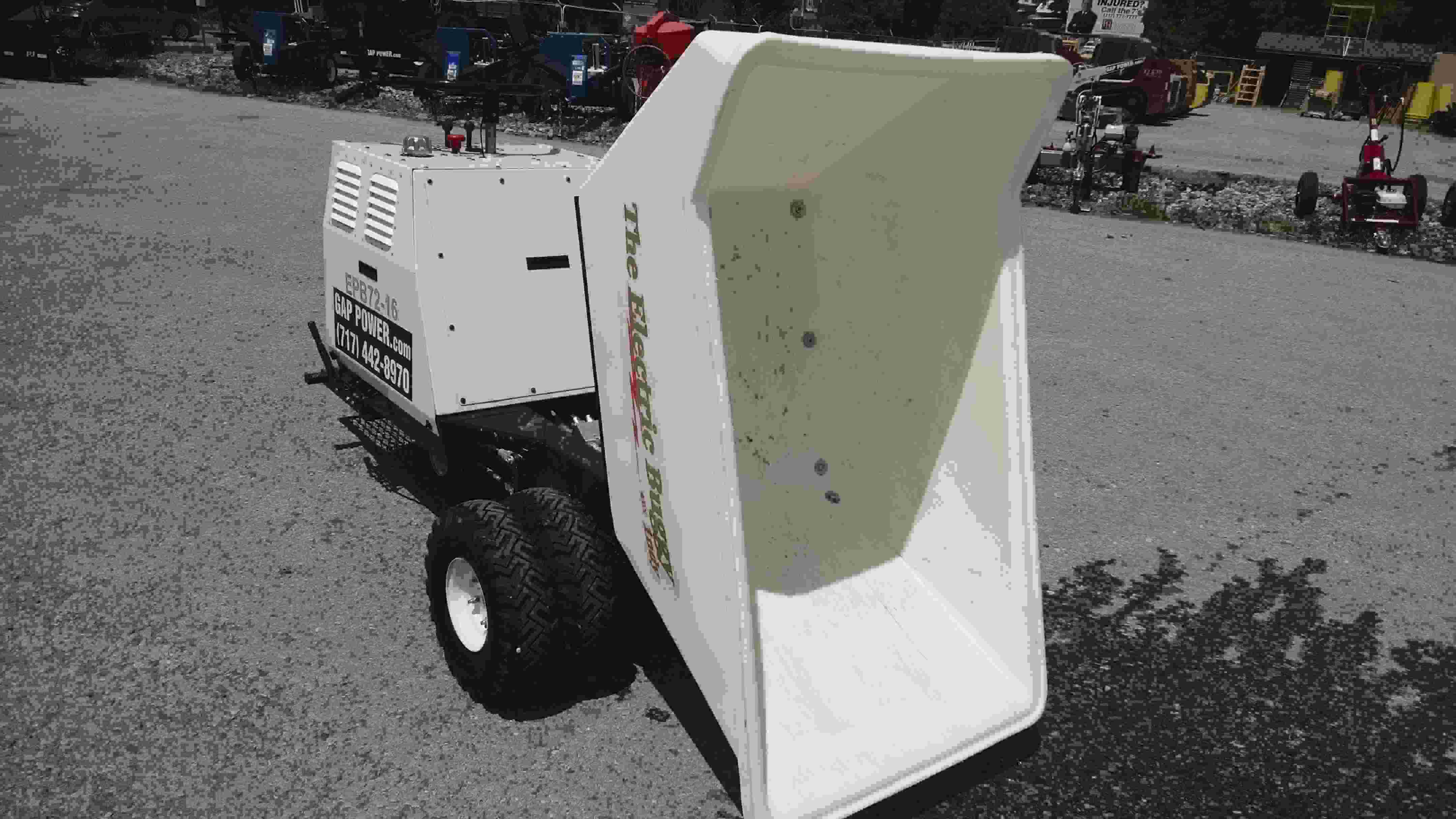 Rent a Battery Powered Electric Concrete Buggy,