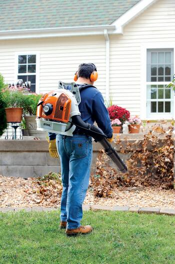 Rent a Blower, Backpack Mounted Leaf, Stihl 2