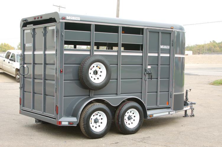 Rent a Horse & Stock Trailer. 6x13'. 4000 lb. cap.
