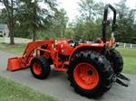 Rent a Tractor, 51hp, Front loader opt., 4WD