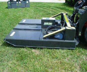 "Rent an Ambusher 72"" Mower For Skidloader"