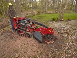 Stump Grinder, 38 HP, Hydraulic Cutter Swing