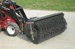 Sweeper for Stand On Loader Attachment Rental