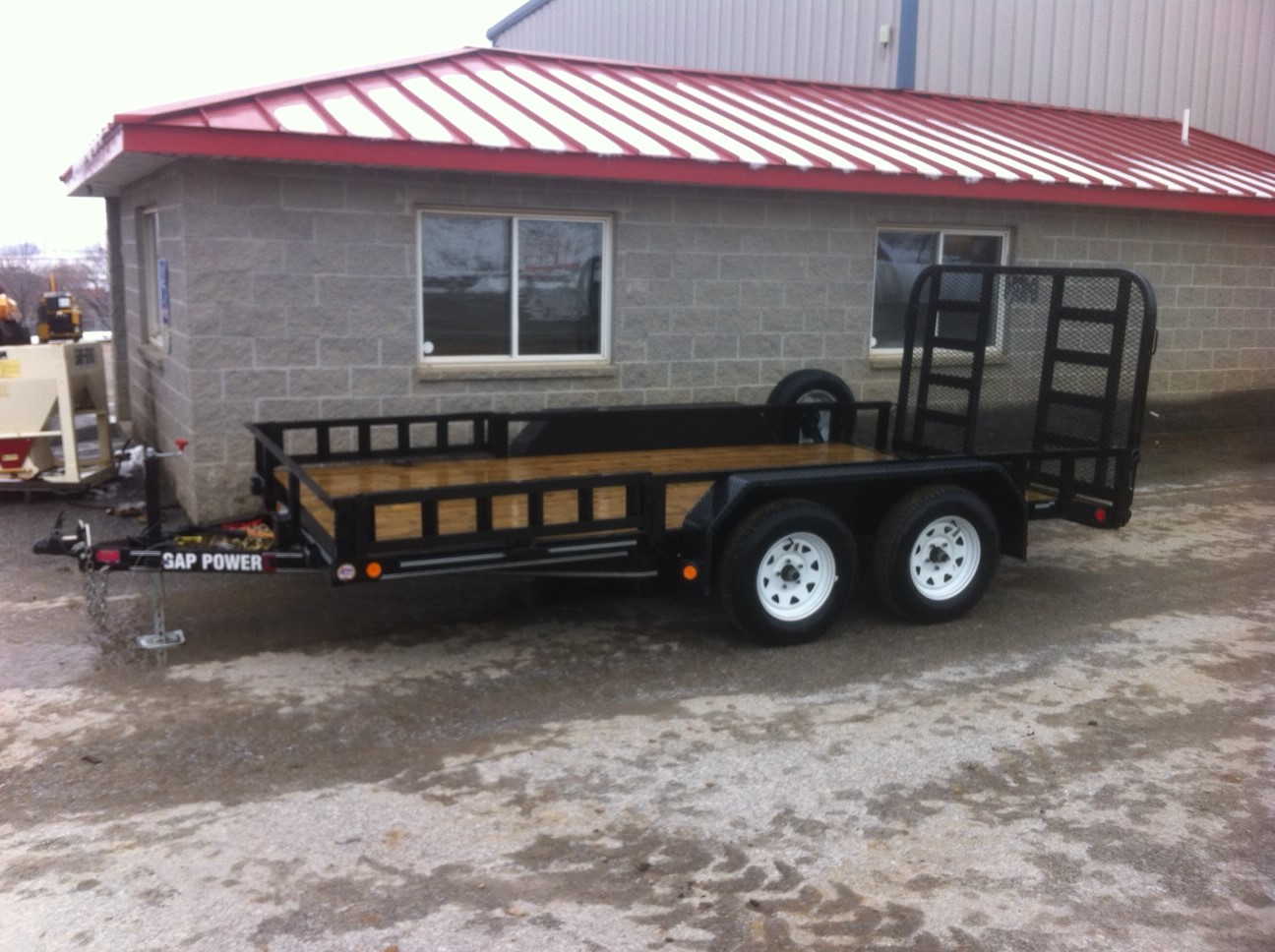 trailer rental double axle 5000 lb capacity. Black Bedroom Furniture Sets. Home Design Ideas