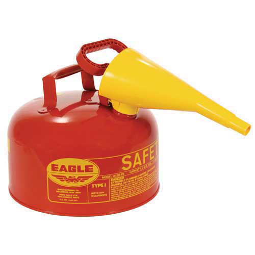 Safety Gas Can >> U1 20 Fs 2 Gallon Safety Gas Can W Plastic Spout
