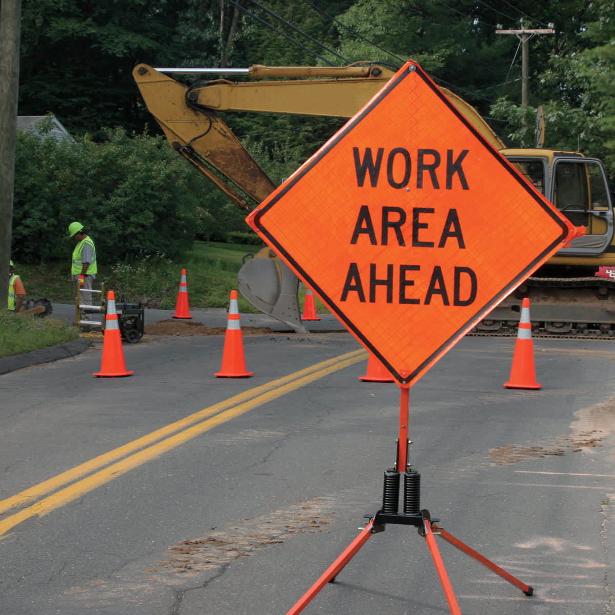"""Highway Signs For Sale >> """"Work Area Ahead"""" Sign Rental Near Coatesville, PA, Chester County, PA, and Lancaster, PA"""